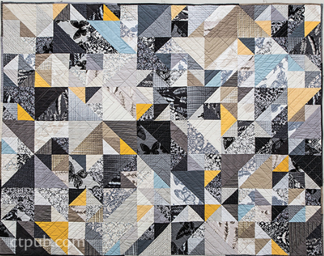 Braque Quilt Pattern By Melinda Lin